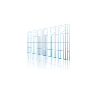 ogrodzenia panelowe 2D ozdobne