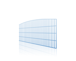 Doppelstabmatten mit Bogen