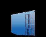 3D-Gitterzäune (Einfachstabgitter)