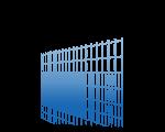 Ballfangdrahtzäune (Doppelstabmatten)